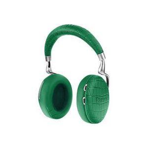 CASQUE - ÉCOUTEURS Casque Bluetooth PARROT Zik 3 vert emeraude croco