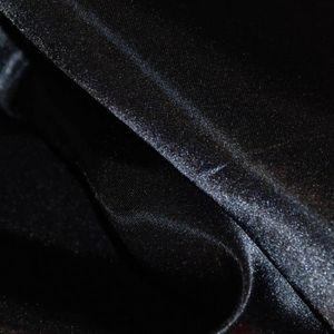 TISSU Satin Noir - Tissu au mètre - Quartier des Tissus