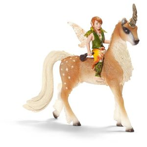 FIGURINE - PERSONNAGE Schleich 70461 - Figurine - Elfe Sur Une Licorne H