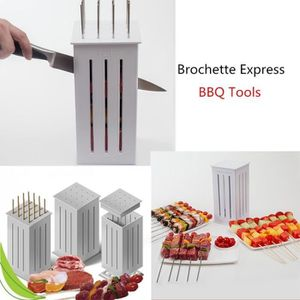 BROCHE - BROCHETTE Kebab Maker Box 16 trous Brochette à la viande bar