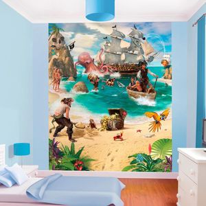 papier peint pirate achat vente papier peint pirate pas cher cdiscount. Black Bedroom Furniture Sets. Home Design Ideas