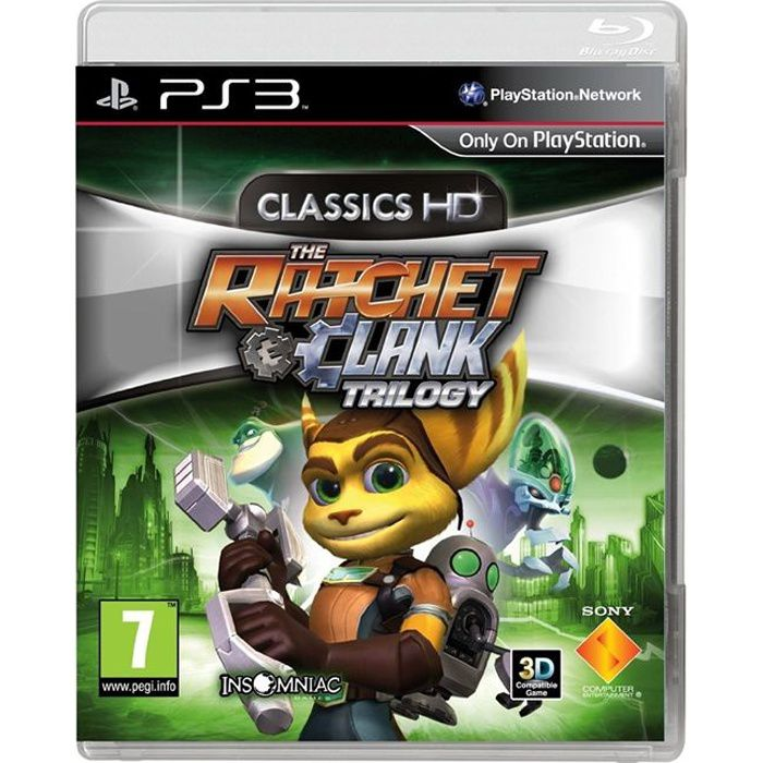 JEU PS3 Ratchet & Clank: Trilogy HD Collection Jeu PS3