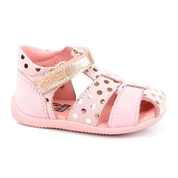 Kickers sandales chaussures b b fille rose achat - Chaussure timberland bebe fille ...