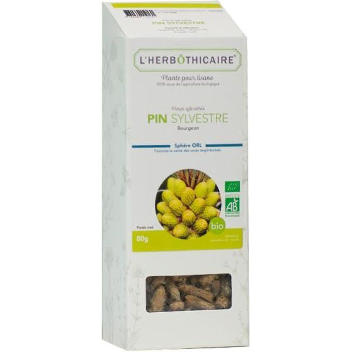 L'Herbôthicaire Tisane Pin Sylvestre Bio 80g