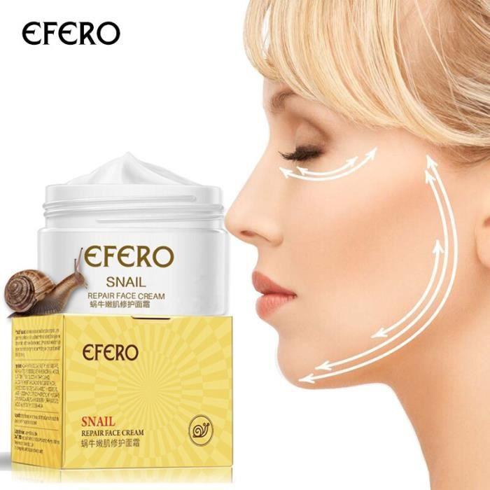 Crème pour le visage éclaircissante à l'essence d'escargot, sérum lisse Anti-âge et Anti-rides, soins raffermissants [F4DC47A]