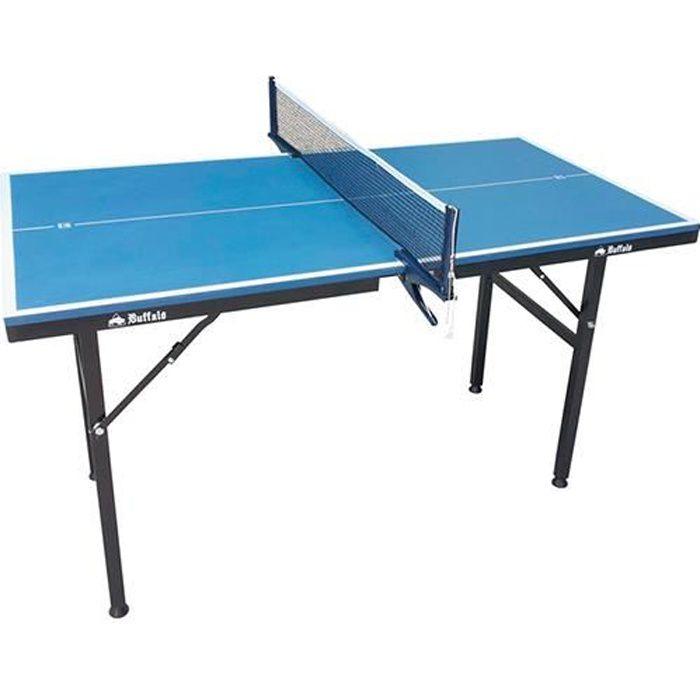 Table de ping-pong Buffalo Mini Deluxe bleue