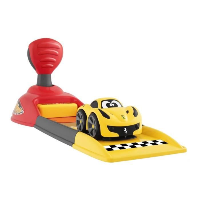 CHICCO Base de lancement Ferrari et mini véhicule Ferrari