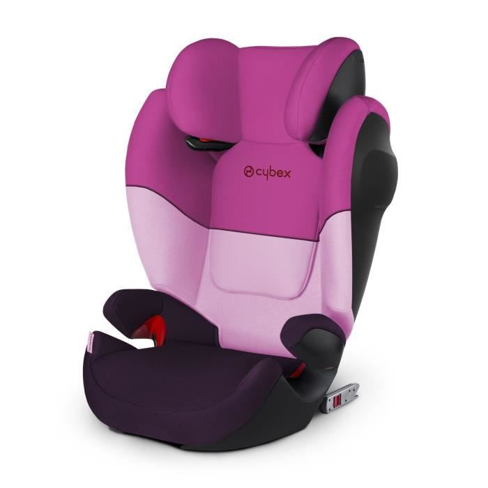 CYBEX SOLUTION M-fix - Siège Auto - Groupe 2/3 - Purple Rain