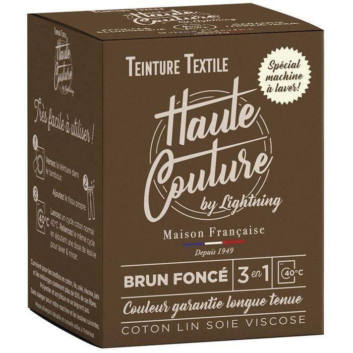 Teinture textile haute couture brun foncé 350g