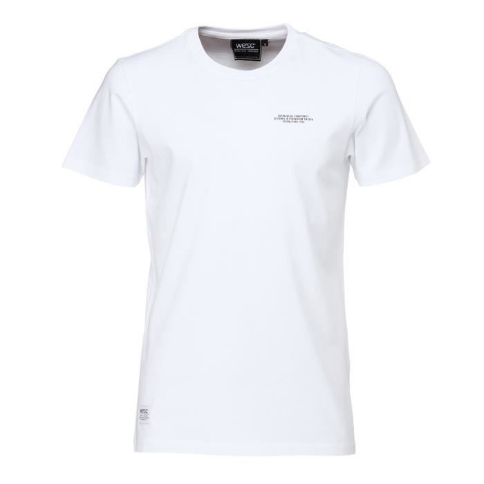 WESC T-shirt Charley - Homme - Blanc