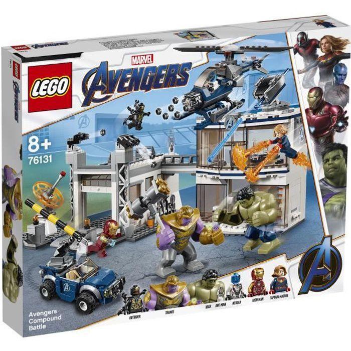 LEGO® Marvel Super Heroes 76131 - L'attaque du QG des Avengers - Jeu de construction