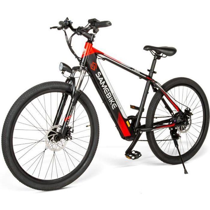 Vélo assistance Electrique SAMEBIKE SH26 vélo électrique 26 pouces 250W Moteur - Noir