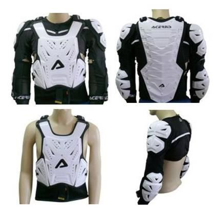 gilet protection moto cross enduro acerbis cosmo s achat vente plastron pare pierre gilet. Black Bedroom Furniture Sets. Home Design Ideas