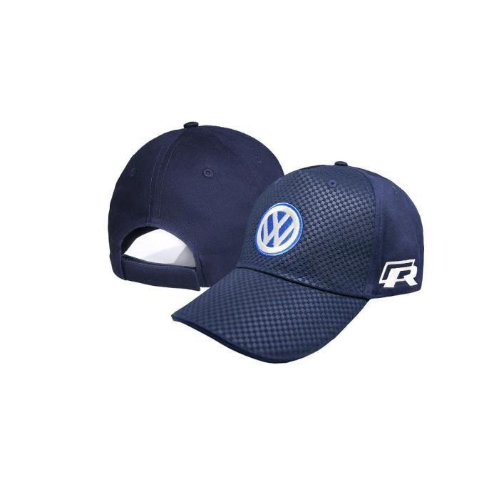 Molda18 K202 Casquette de baseball avec logo Volkswagen Bleu