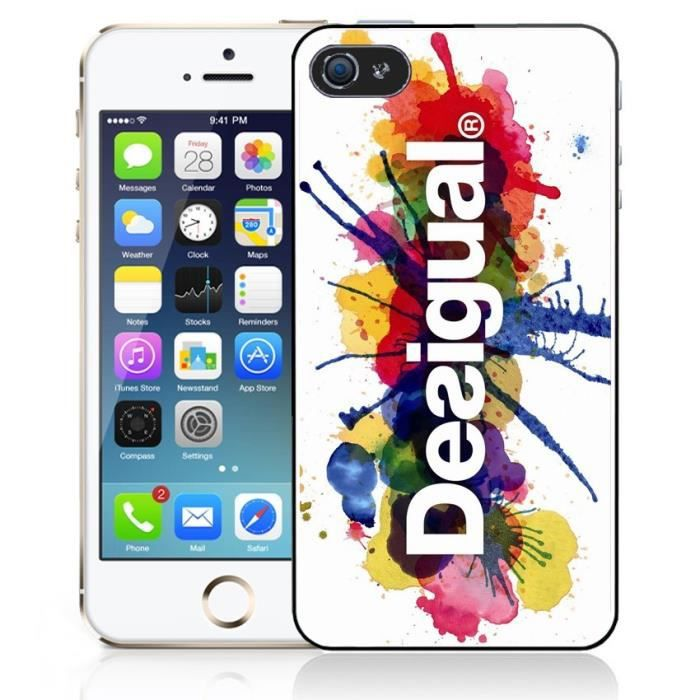 coque iphone 5 desigual