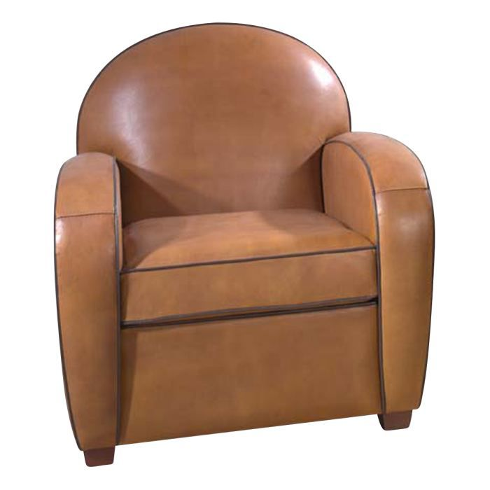 fauteuil club cuir windsor achat vente fauteuil marron. Black Bedroom Furniture Sets. Home Design Ideas