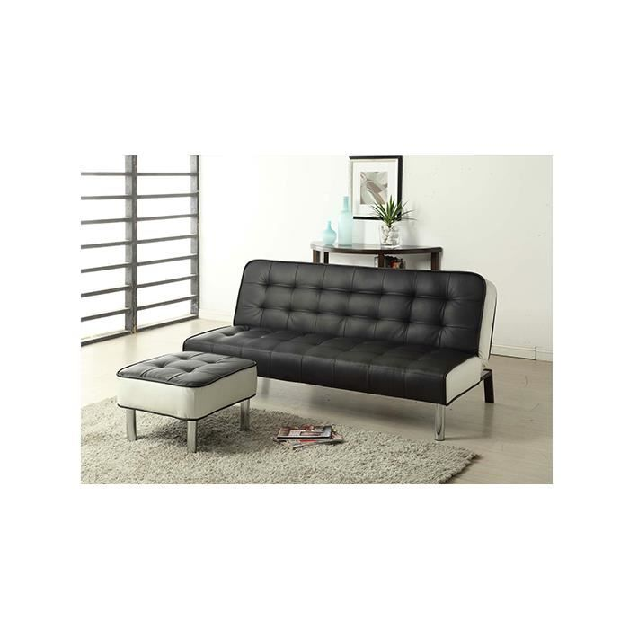 canap convertible cabrera 3 personnes lit avec repose. Black Bedroom Furniture Sets. Home Design Ideas