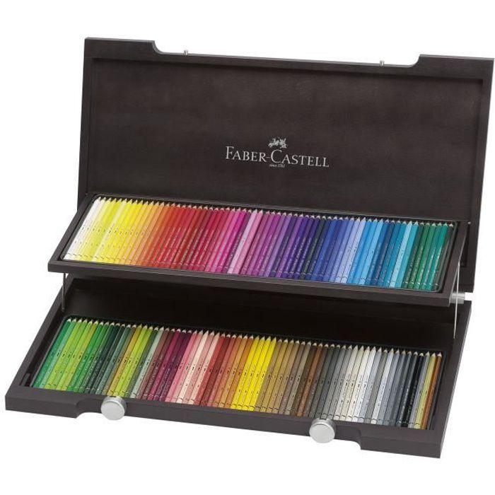 CRAYON DE COULEUR FABER-CASTELL Coffret de 120 Crayons de couleur aq