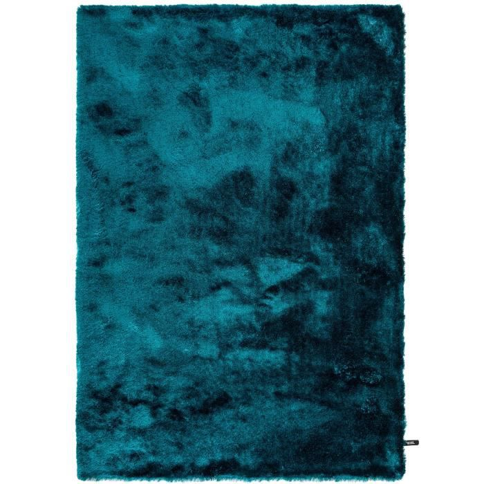 benuta tapis poils longs whisper turquoise 16 achat vente tapis cdiscount. Black Bedroom Furniture Sets. Home Design Ideas