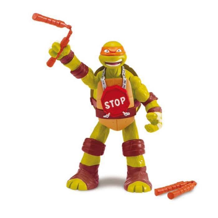 FIGURINE - PERSONNAGE Figurine Tortues Ninja Hand-to-Hand Fighters : Mic