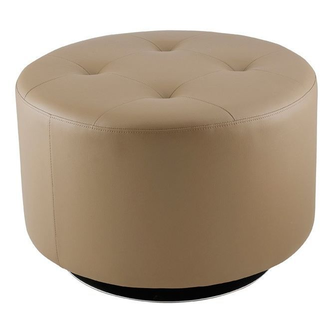 grand pouf rotatif taupe maeva id 39 clik achat vente pouf poire cdiscount. Black Bedroom Furniture Sets. Home Design Ideas