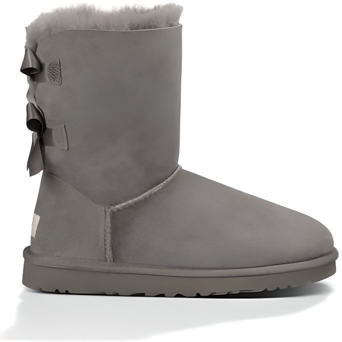 ugg grise haute