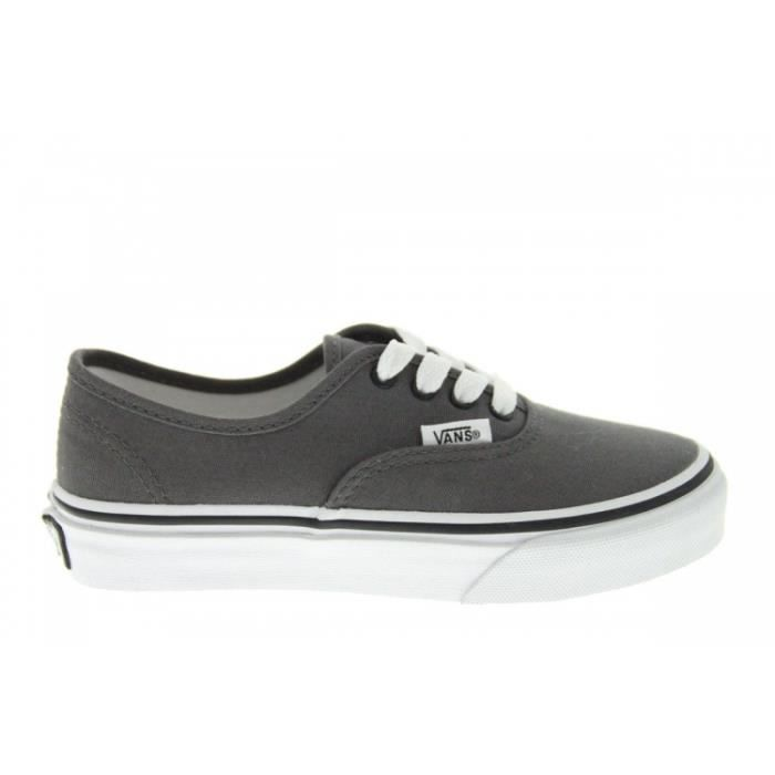Baskets mode - Vans K Authentic Pewter xfe9IXlrb