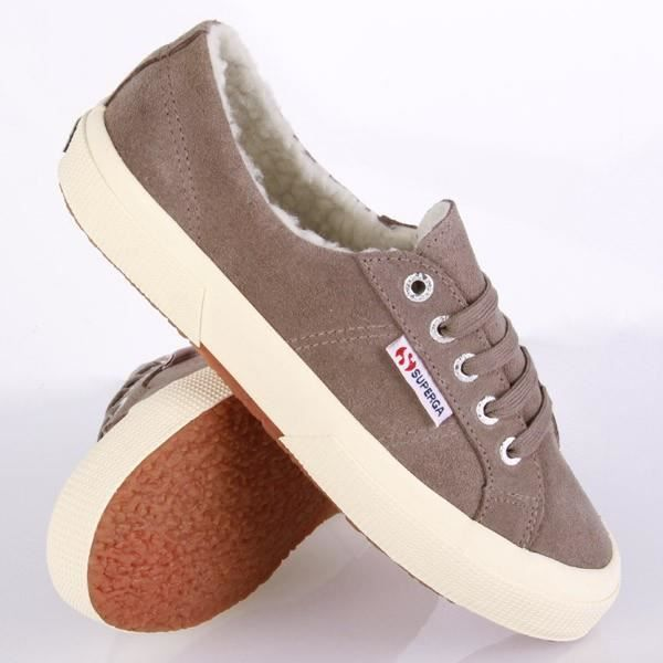 Superga Tennis 2750 Nubuck fourré