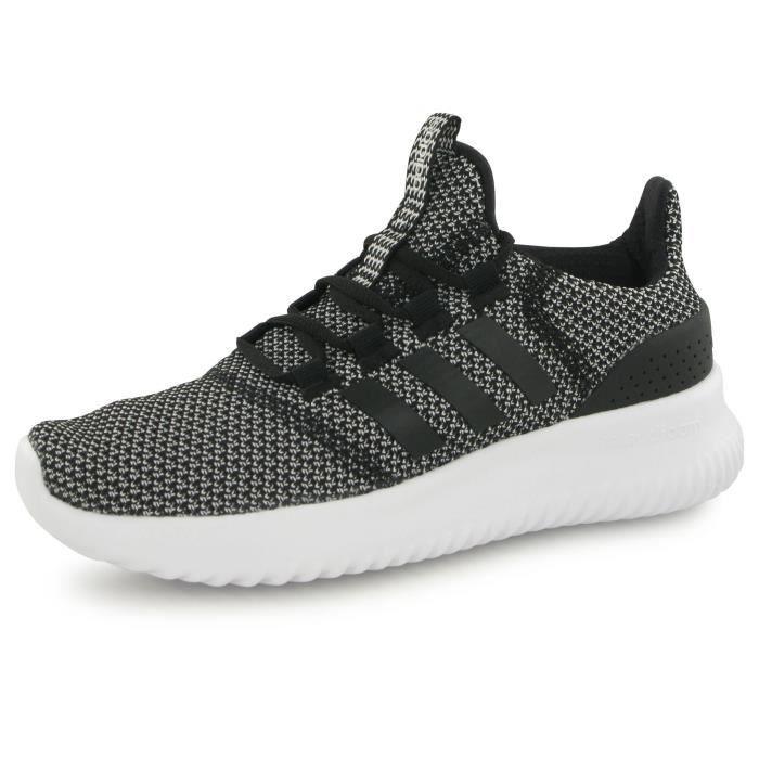 Adidas Neo Cloudfoam Ultimate gris, baskets mode e