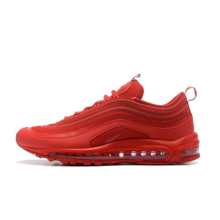half off 05f20 c8514 BASKET NIKE AIR MAX 97 OG QS CHAUSSURES DE COURSE HOMME ROUGE
