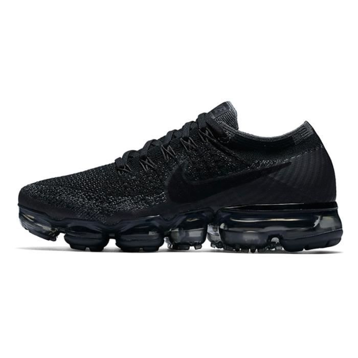 Vapormax Baskets Flyknit Chaussures Nike Noir Hommes Air Yb67fyvg