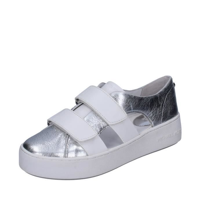 BASKET MICHAEL KORS Chaussures Femme Baskets Argenté BR63