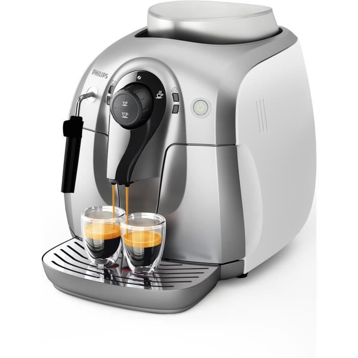 Machine espresso automatique philips mousseur achat vente machine e - Machine a cafe broyeur integre ...