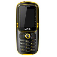 T�l�phone GSM MTT WATERPROOF JAUNE