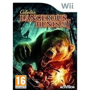 JEU WII CABELA'S DANGEROUS HUNTS + FUSIL / Jeu Wii