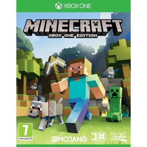JEUX XBOX ONE Minecraft Xbox One Jeu XBOX One