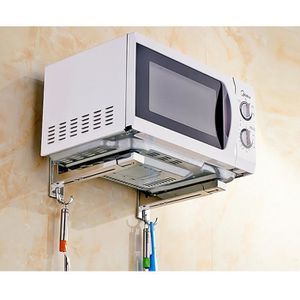 SUPPORT DE MICRO-ONDES Micro-Ondes Support avec Bras Extensible, Support