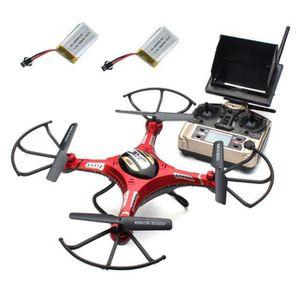 DRONE JJRC H8D RC Quadcopter Drone 5.8G FPV Caméra HD +