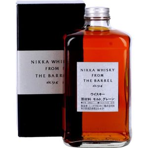 WHISKY BOURBON SCOTCH Liqueur (ou Alcool) - Nikka From The Barrel Whisky