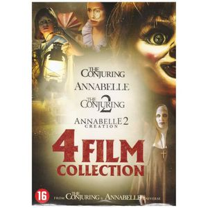 DVD FILM Coffret 4 Films : Annabelle 1 et 2 + The Conjuring