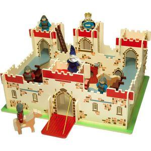 UNIVERS MINIATURE Château en bois du roi Arthur