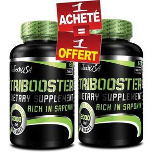 STIMULANT HORMONAUX Tribooster 60caps + 1 Boite Offerte Biotech USA TR
