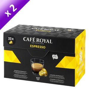 CAFÉ CAFE ROYAL Espresso - Compatibles avec le système