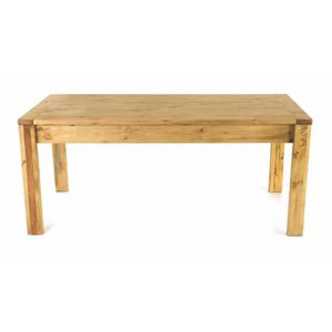 Table de cuisine bois massif achat vente table de for Table cuisine pin massif