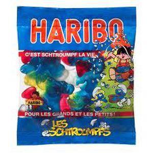 CONFISERIE DE SUCRE Haribo bonbons schtroumpfs 300g