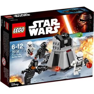 ASSEMBLAGE CONSTRUCTION LEGO® Star Wars Pack de combat du Premier Ordre