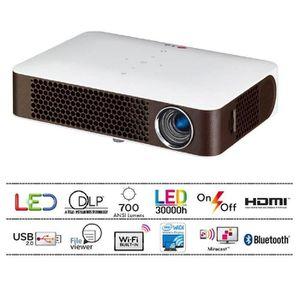 Vidéoprojecteur LG PW700 Vidéoprojecteur LED WXGA 700 Lumen