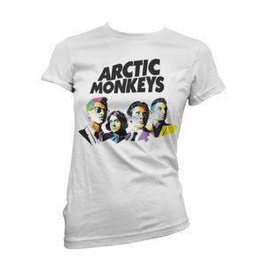 "T-SHIRT T-shirt  femme ""Arctic Monkeys"" - T-shirt indie ro"