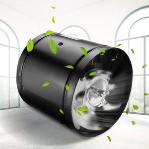 VENTILATION NEUFU Ventilateur d'extraction de Tuyau Noir 6 Pou