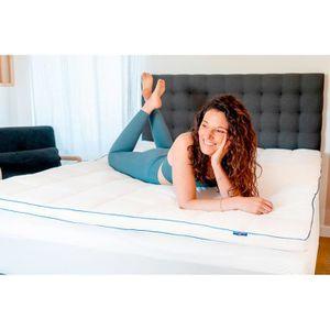 SUR-MATELAS Surmatelas de Confort Moelleux 160 x 200 cm - Qual